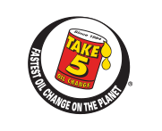 Take 5 Oil Change (Driven Brands) Logo